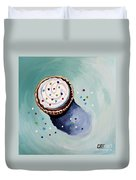 The Sprinkled Cupcake Duvet Cover