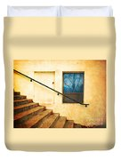 The Stairway Of Reflections Duvet Cover