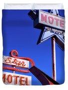 The Star Motel Duvet Cover