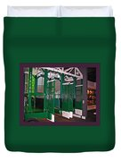 The Starting Gate Display In The Kentucky Derby Museum Duvet Cover