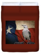 The State Bird Of Texas Duvet Cover