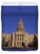The State Capitol Building Duvet Cover