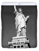 The Statue Of Liberty  Photo Duvet Cover