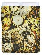 The Steampunk Heart Design Duvet Cover