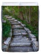 The Steps Duvet Cover