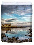 The Stilled Harbour... Duvet Cover