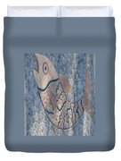 The Stone Fish Duvet Cover