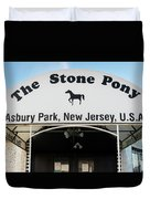 The Stone Pony, Asbury Park Duvet Cover