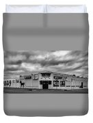 The Stone Pony Asbury Park New Jersey Black And White Duvet Cover