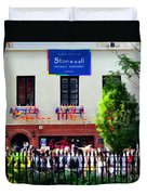The Stonewall Inn National Monument Duvet Cover