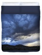 The Storm Above Duvet Cover
