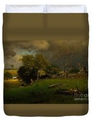 The Storm, George Inness Duvet Cover