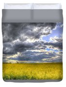 The Storms Approach  Duvet Cover