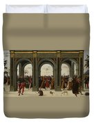 The Story Of Griselda Part II   Exile Duvet Cover