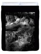The Stream In Bw Duvet Cover