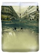 The Street Fall Duvet Cover