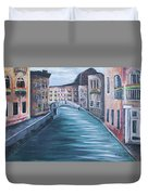 The Streets Of Italy Duvet Cover