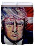 The Strength Of President Donald J Trump Duvet Cover