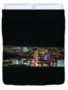 The Strip At Las Vegas,nevada Duvet Cover
