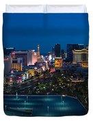 The Strip Las Vegas Duvet Cover