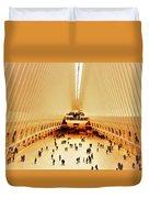 The Stunning Oculus In New York  Duvet Cover