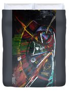 The Subway Experience Duvet Cover