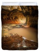 The Subway - Zion National Park Duvet Cover