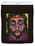 The Suffering King Duvet Cover