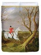 The Suffolk Hunt - Gone Away Duvet Cover