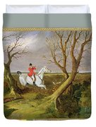 The Suffolk Hunt - Gone Away Duvet Cover