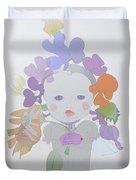 The Sun Flower Child Fairy Duvet Cover