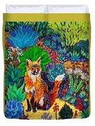 The Sun Fox Duvet Cover