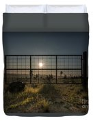The Sun Is Free Duvet Cover