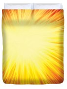The Sun Duvet Cover