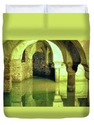 The Sunken Crypt Of San Zaccaria Duvet Cover