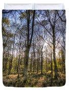 The Sunset Forest Duvet Cover