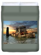 The Sunset Years Of The Mary D. Hume Duvet Cover