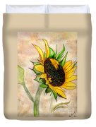 The Sunshine Of God's Love Duvet Cover