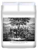 The Surrender Of General Lee  Duvet Cover
