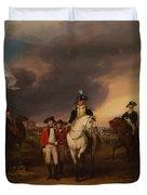 The Surrender Of Lord Cornwallis At Yorktown Duvet Cover