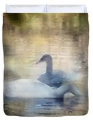 The Swans Duvet Cover
