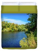 The Swimming Hole Duvet Cover