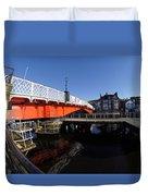 The Swing Bridge Duvet Cover