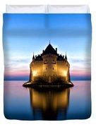 The Swiss Castle Duvet Cover