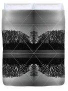 The Symmetry Of Light  Duvet Cover