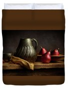 The Table Duvet Cover by Cindy Lark Hartman