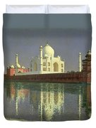 The Taj Mahal Duvet Cover by Vasili Vasilievich Vereshchagin