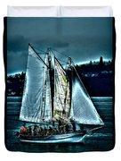The Tall Ship Lavengro Duvet Cover