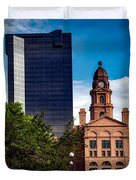 The Tarrant County Courthouse Duvet Cover