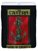 The Tavern Sign Duvet Cover